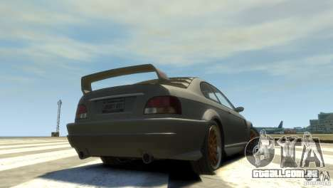 Sentinel Grand Sport para GTA 4 traseira esquerda vista