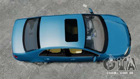Volkswagen Jetta 2010 para GTA 4 vista direita