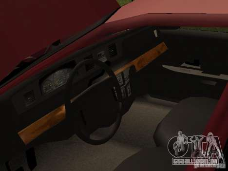 Ford Crown Victoria LX 1994 para GTA San Andreas vista traseira
