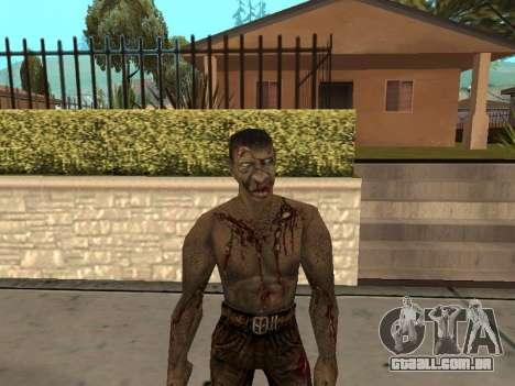 Pak peles de gótico 1 para GTA San Andreas nono tela