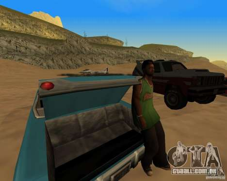 Praia večirinka para GTA San Andreas terceira tela
