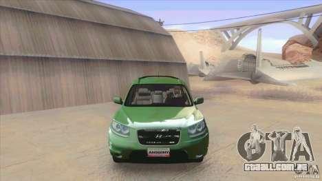 Hyundai Santa Fe 2009 para GTA San Andreas esquerda vista