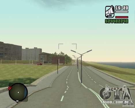 Estrada de Leiria-Nižegorodsk para GTA San Andreas segunda tela
