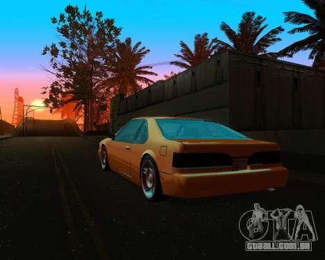 Khord ThunderWing para GTA San Andreas vista traseira