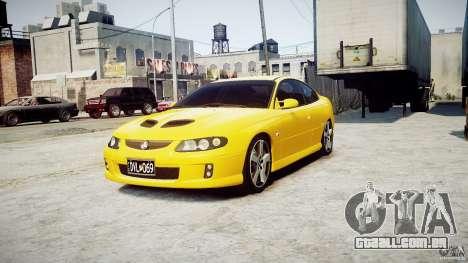 Holden Monaro para GTA 4