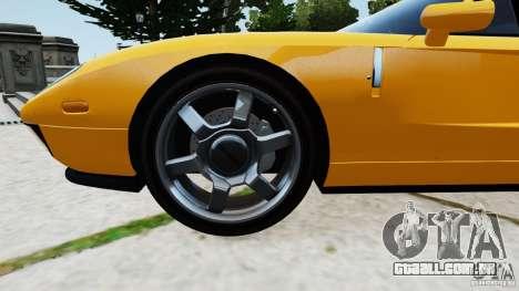 Ford GT 2005 v1.0 para GTA 4 vista interior