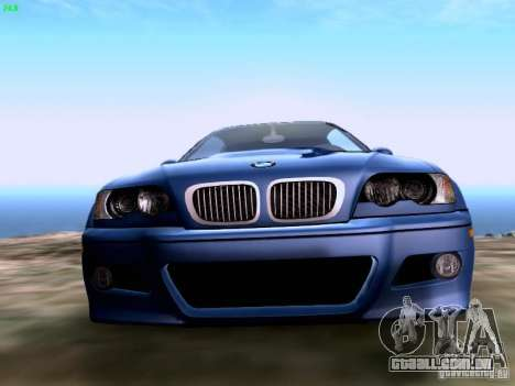 BMW M3 Tunable para GTA San Andreas vista direita