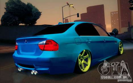 BMW M3 E90 para GTA San Andreas vista interior