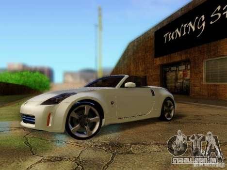 Nissan 350Z Cabrio para GTA San Andreas