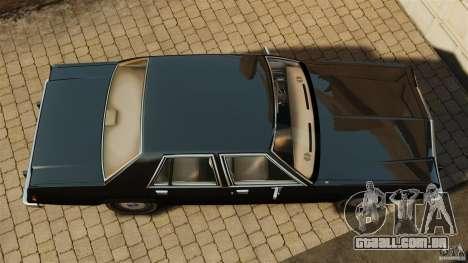 Ford LTD Crown Victoria 1987 para GTA 4 vista direita