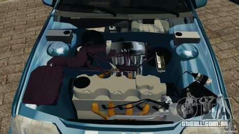 Chevrolet Kadett GSI para GTA 4 vista superior
