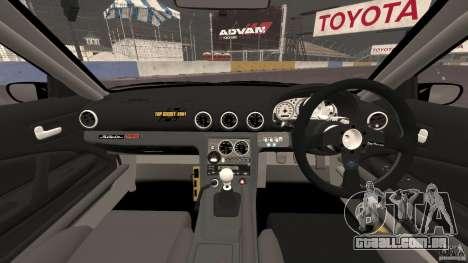 Nissan Silvia S15 D1GP TOP SECRET para GTA 4 vista de volta