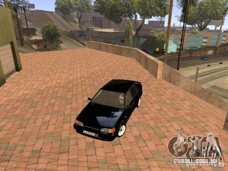 VAZ 2115 para GTA San Andreas vista superior