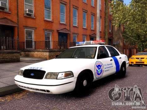 Ford Crown Victoria Homeland Security para GTA 4