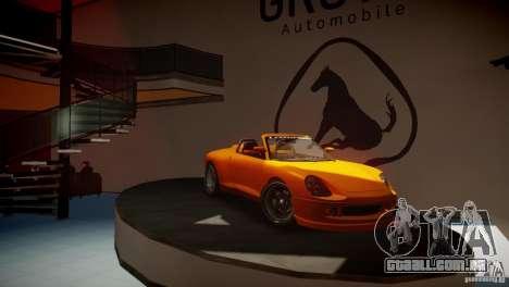 Comet Speedster para GTA 4 traseira esquerda vista