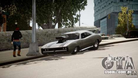 Dukes City-Drag para GTA 4 vista inferior