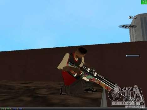 Graffiti Gun Pack para GTA San Andreas quinto tela
