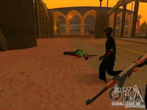 Grove Street Forever para GTA San Andreas terceira tela