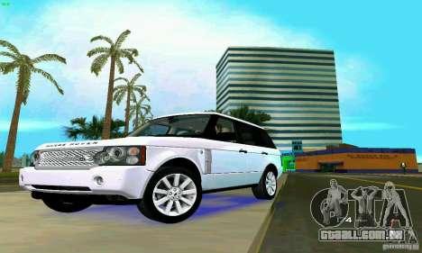 Land Rover Range Rover Supercharged 2008 para GTA Vice City