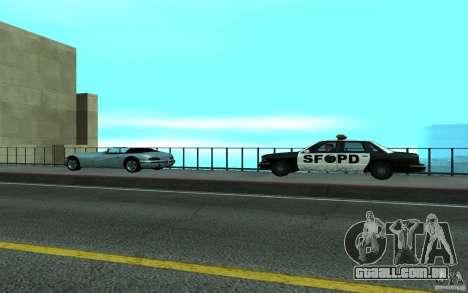 Polícia na ponte, San Fierro para GTA San Andreas