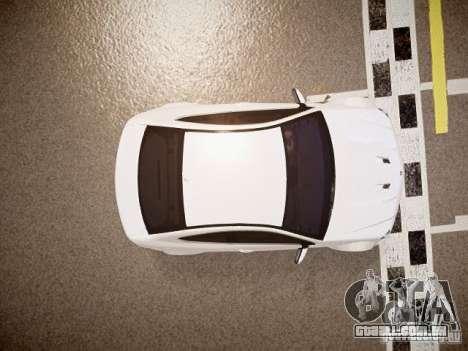 Mercedes-Benz C63 AMG Stock Wheel v1.1 para GTA 4 vista de volta
