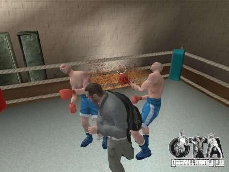O sistema de luta de GTA IV V 2.0 para GTA San Andreas terceira tela