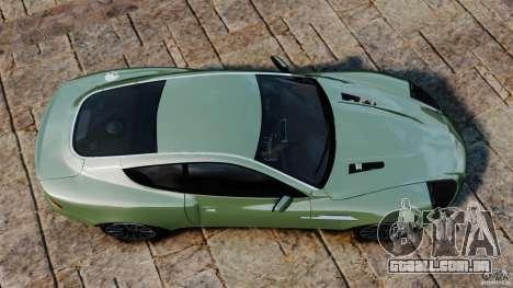 Aston Martin Vanquish 2001 para GTA 4 vista direita