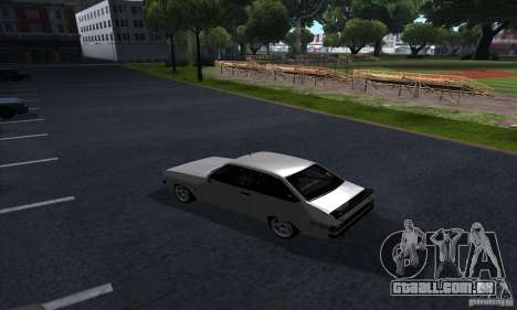 Ford Escort RS 1600 para GTA San Andreas vista direita