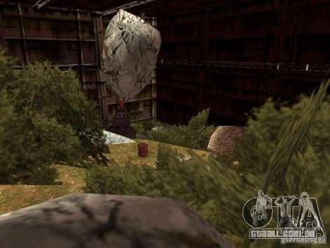 A fábrica abandonada para GTA San Andreas segunda tela