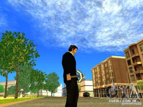 Escolher o jogo Minecraft para GTA San Andreas por diante tela