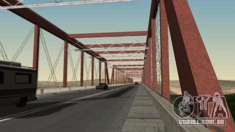 A nova ponte de LS-LV para GTA San Andreas por diante tela