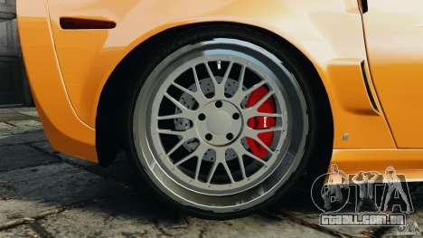 Chevrolet Corvette ZR1 para GTA 4 rodas