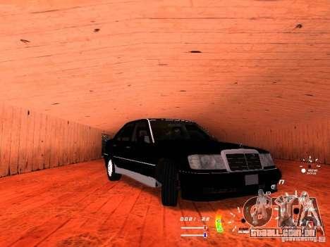 Mercedes-Benz 230E para GTA San Andreas esquerda vista