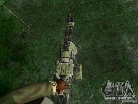Minigun de Duke Nukem Forever para GTA San Andreas segunda tela