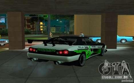 Elegia por PiT_buLL para GTA San Andreas traseira esquerda vista