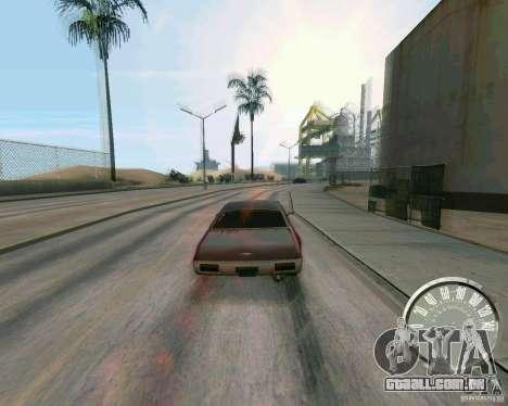 Velocímetro de Mustang clássico para GTA San Andreas