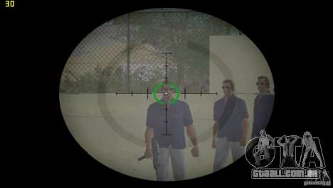 Mira óptica de GTA 5 para GTA Vice City segunda tela