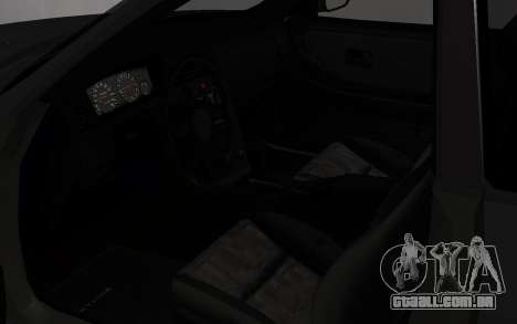 Nissan Skyline GTS25T (R33) para GTA San Andreas vista traseira
