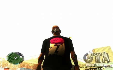 Skull Mask para GTA San Andreas terceira tela