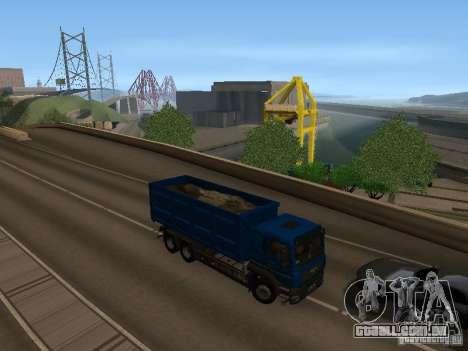 MAN TGA 28 430 PALIFT para GTA San Andreas vista traseira
