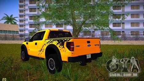 Ford F-150 SVT Raptor para GTA Vice City