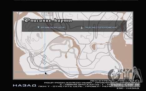 GTA V map para GTA San Andreas sétima tela