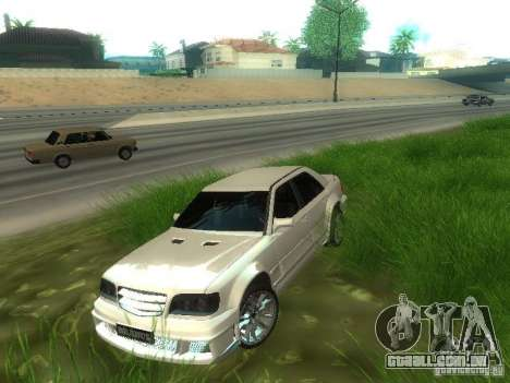 Mercedes-Benz W124 BRABUS para GTA San Andreas