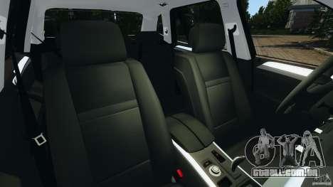 BMW X1 para GTA 4 vista interior