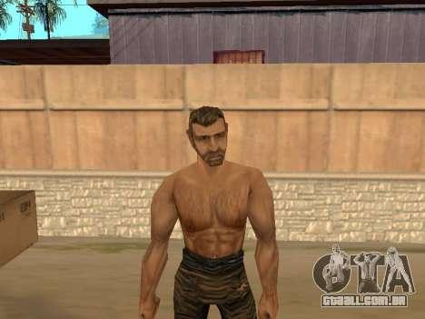 Pak peles de gótico 1 para GTA San Andreas quinto tela