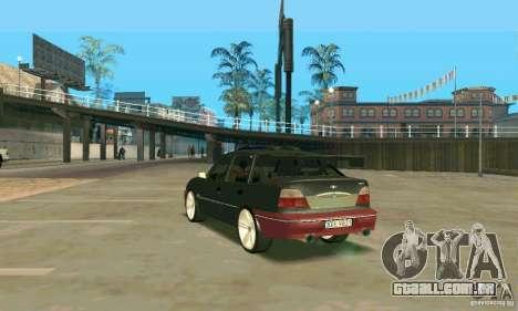 Daewoo Nexia Tuning para GTA San Andreas traseira esquerda vista