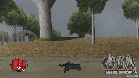 GTAIV HUD para uma ampla tela (16: 9) v2 para GTA San Andreas terceira tela