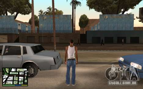 GTA V Interface para GTA San Andreas