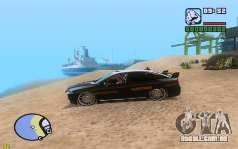 ENBSeries By VadimSpiridonov v.0.2 para GTA San Andreas por diante tela