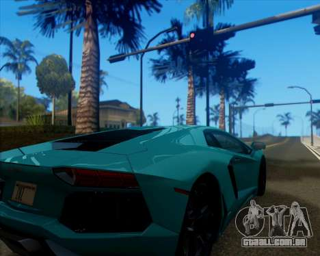 ENB v 1.1 para médio- e de alta potência PC para GTA San Andreas terceira tela